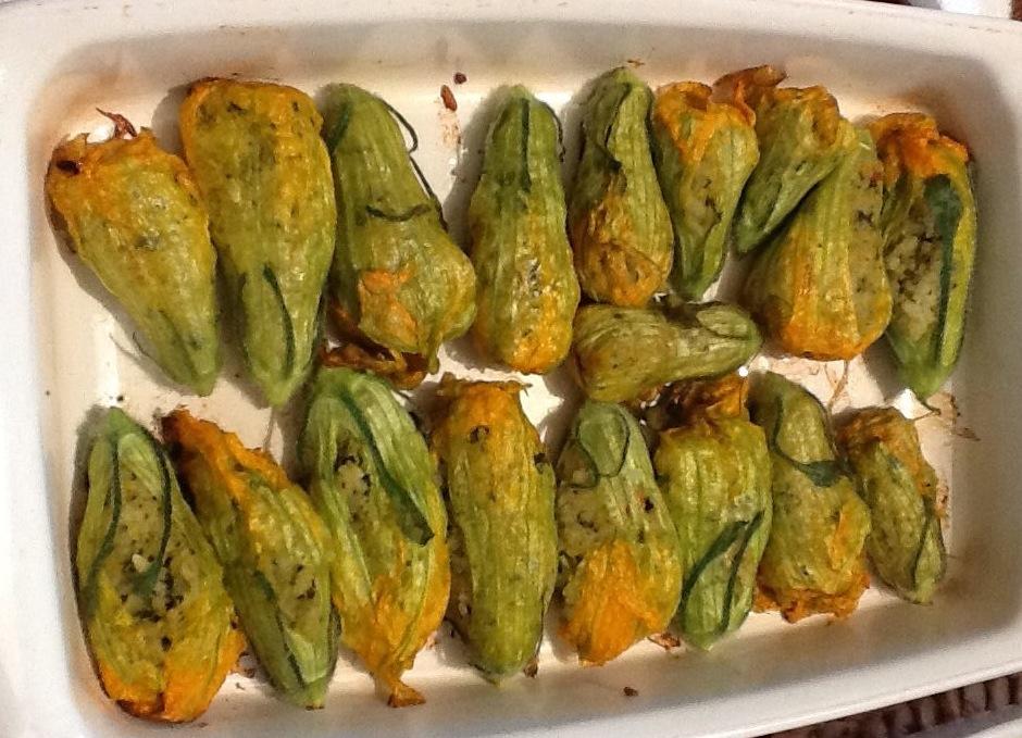 stuffed zucchini flowers | un poco di tutto