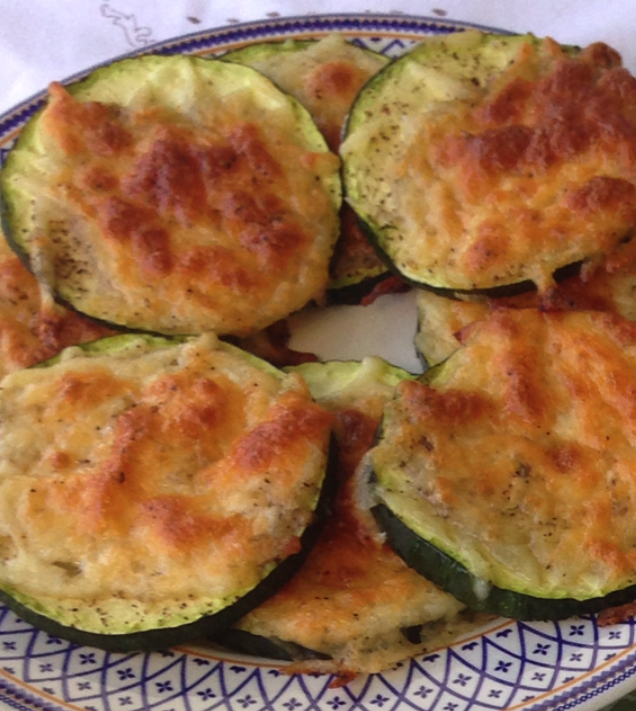Roasted Zucchini Slices And Tinola Soup Un Poco Di Tutto